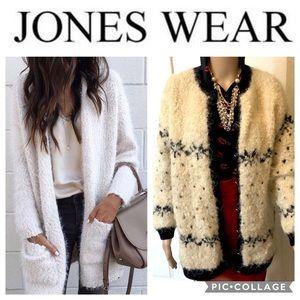 Jones Wear Mohair Sweater